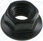 M12-1.75 Hex Flange Nut 25mm O.D. 18mm Hex