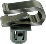 Mercedes-Benz Moulding Clip-Black Nylon