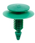 GM Trim Panel Retainer-Green Nylon