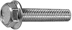 M6-1.0 x 25mm J.I.S. Small Head Hex Flange Bolts