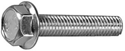 M8-1.25 x 25mm J.I.S. Small Head Hex Flange Bolts
