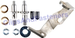 GM LH Greaseable Stainless Steel Door Hinge Pin, Bushing & Bracket Kit