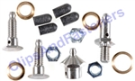 GM Greaseable Stainless Steel Door Hinge Pin Kit