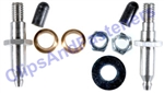 GM Greaseable Stainless Steel Door Hinge Pin & Bushing Repair Kit