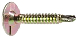 Phillips Square Drive Liner Screws #10 x 1-1/4
