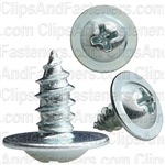 Phil Round Washer Head Zinc 10 X 3/8 Tap Screw