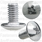 "Phillips Truss Head Machine Screw 8-32 X 5/16"" Chrome"