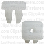 Nylon License Plate Nut #8 Screw Size