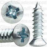 8 X 5/8 Phillips Oval Head Tap Screw Zinc