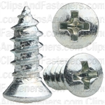 10 X 1/2 #6 Hd Phillips Oval Head Tap Screw Zinc
