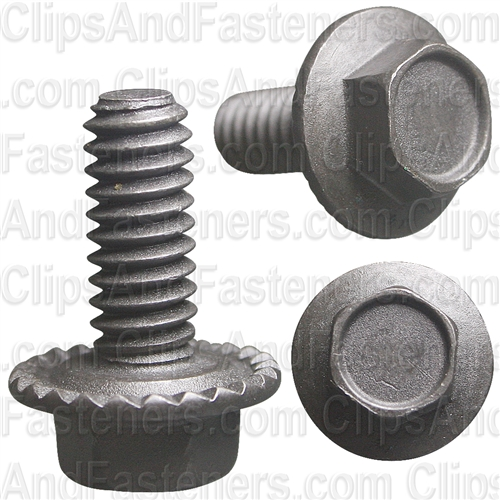 "1/4""-20 X 5/8"" Hex Washer Head Spin Lock Bolt"