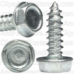 #10 X 5/8 Hex Washer Head Tapping Screw Zinc