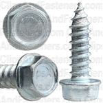 12 X 3/4 Ind. Hex Washer Head Tap Screw Zinc