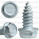 5/16 X 3/4 Ind. Hex Washer Head Tap Screw Zinc