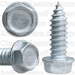 5/16 X 1 Ind. Hex Washer Head Tap Screw Zinc
