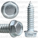 5/16 X 1 1/4 Ind. Hex Washer Head Tap Screw Zinc
