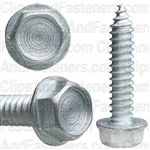 5/16 X 1 1/2 Ind. Hex Washer Head Tap Screw Zinc