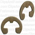"3/16"" Reinforced E Type Retaining Rings"