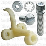 Headlight Adjusting Screw & Nut Assembly