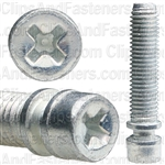 1/4-28 X 1 Phil.Headlight Adjusting Screw Zinc