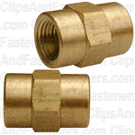 Brass Coupling 1/8 Pipe Thread