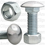 Bumper Bolt & Lock Nut 1/2-13 X 1-1/2