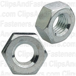 1/4-28 Finish Hex Nut Zinc