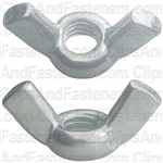 1/4-20 Cold Forged Wing Nuts-Nickel