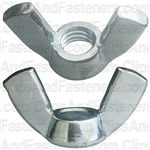 3/8-16 Cold Forged Wing Nuts-Nickel