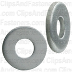 "1/8"" SAE Flat Washer Zinc Finish 3/8"" O.D."