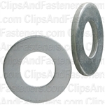 "3/8"" SAE Flat Washer Zinc Finish 13/16"" O.D."