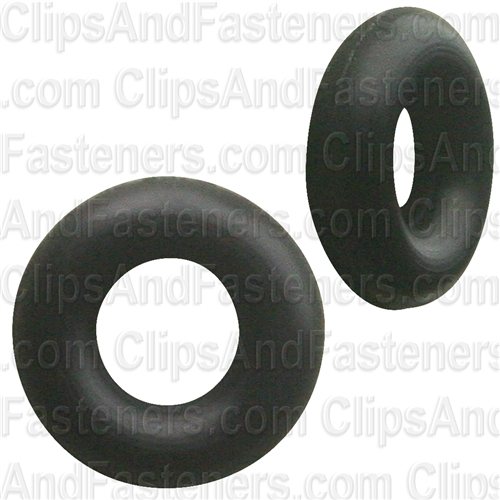 "1/8"" I.D. 1/4"" O.D. 1/16"" Thick BUNA-N Rubber O-Rings"