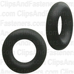 "5/32"" I.D. 9/32"" O.D. 1/16"" Thick BUNA-N Rubber O-Rings"
