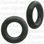 "3/16"" I.D. 5/16"" O.D. 1/16"" Thick BUNA-N Rubber O-Rings"