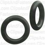 "1/4"" I.D. 3/8"" O.D. 1/16"" Thick BUNA-N Rubber O-Rings"