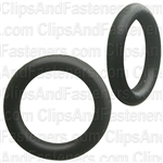 "5/16"" I.D. 7/16"" O.D. 1/16"" Thick BUNA-N Rubber O-Rings"