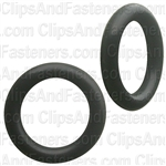"7/16"" I.D. 5/8"" O.D. 3/32"" Thick BUNA-N Rubber O-Rings"