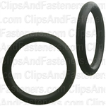 "5/8"" I.D. 13/16"" O.D. 3/32"" Thick BUNA-N Rubber O-Rings"