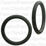 "11/16"" I.D. 7/8"" O.D. 3/32"" Thick BUNA-N Rubber O-Rings"