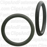 "3/4"" I.D. 15/16"" O.D. 3/32"" Thick BUNA-N Rubber O-Rings"