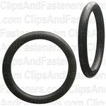"15/16"" I.D. 1-3/16"" O.D. 1/8"" Thick BUNA-N Rubber O-Rings"