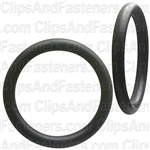 "1"" I.D. 1-1/4"" O.D. 1/8"" Thick BUNA-N Rubber O-Rings"
