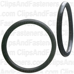 "1-5/16"" I.D. 1-9/16"" O.D. 1/8"" Thick BUNA-N Rubber O-Rings"