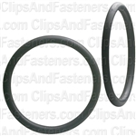 "1-1/2"" I.D. 1-3/4"" O.D. 1/8"" Thick BUNA-N Rubber O-Rings"