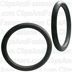 "1-5/8"" I.D. 2"" O.D. 13/64"" Thick BUNA-N Rubber O-Rings"