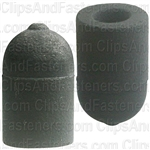 Rubber Vacuum Cap For 1/4 Dia. 9/16 Inside Lgth