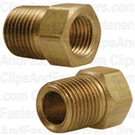 "Brass Male Connector 1/8"" Tube Size 1/8"" Pipe Thread"