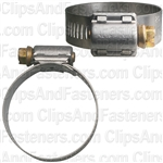 #20 Partial Stainless Steel Hose Clamp