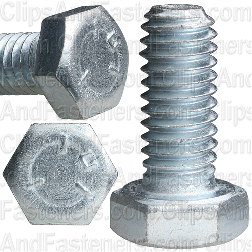 5/16-18 X 3/4 Grade 5 Cap Screw Zinc