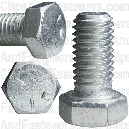 1/2-13 X 1 Grade 5 Cap Screw Zinc
